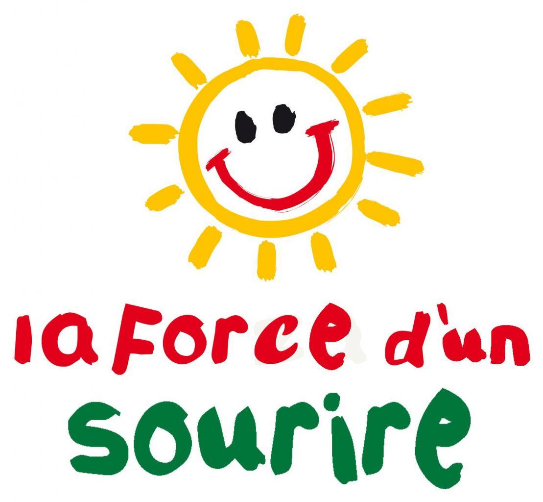 """Logo """"La force d'un sourire"""""""