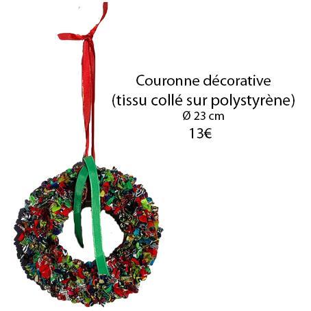328 couronne decorative 23 cms