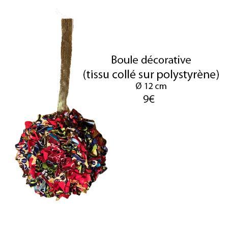 329 boule decorative l 12 cm