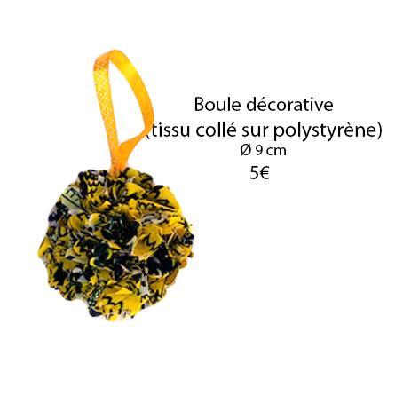 331 boule decorative o 9 cm