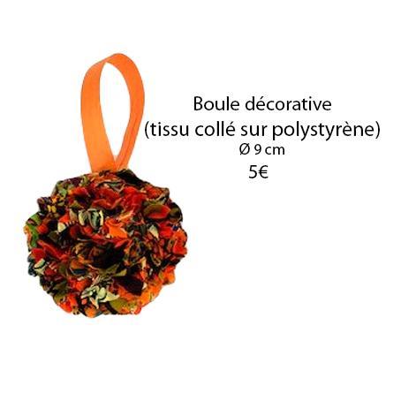 332 boule decorative o 9 cm