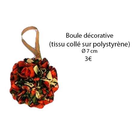 334 boule decorative o 7 cm
