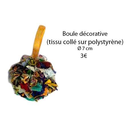 336 boule decorative o 7 cm