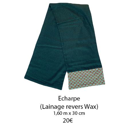 341 echarpe revers wax