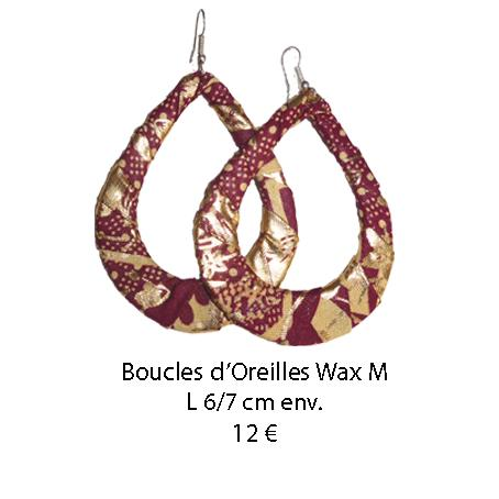 433 boucles oreilles wax