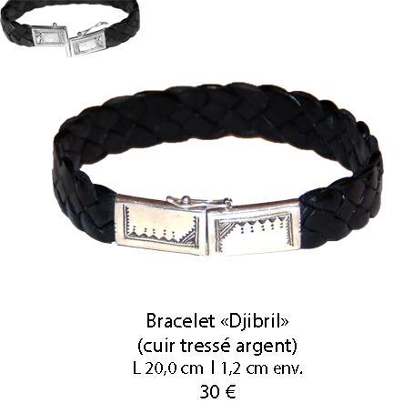 578 bracelet cuir djibril