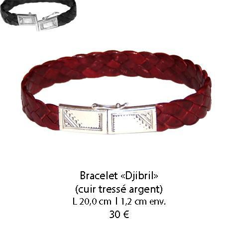 579 bracelet cuir djibril