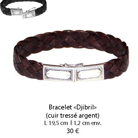 580 bracelet cuir djibril