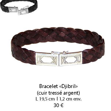 581 bracelet cuir djibril