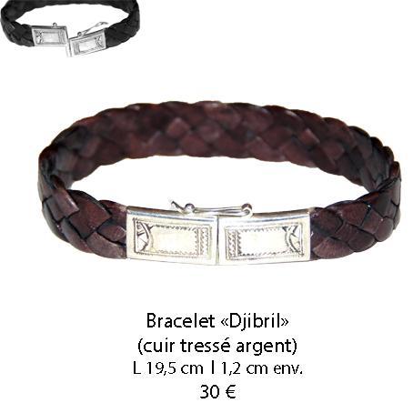 583 bracelet cuir djibril