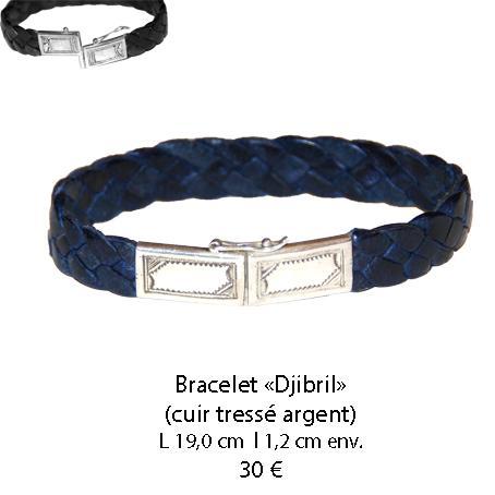 584 bracelet cuir djibril