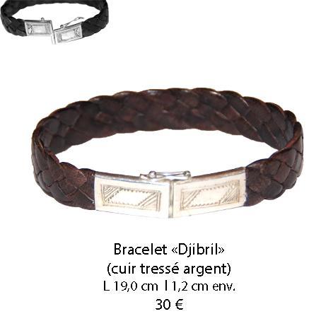 586 bracelet cuir djibril