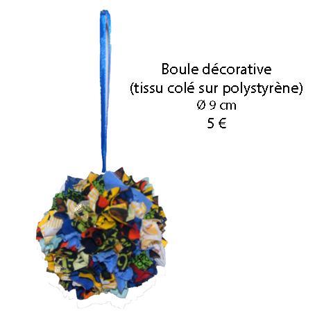 760 boule decorative