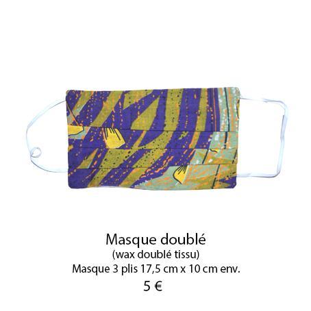 865 masque 3 plis