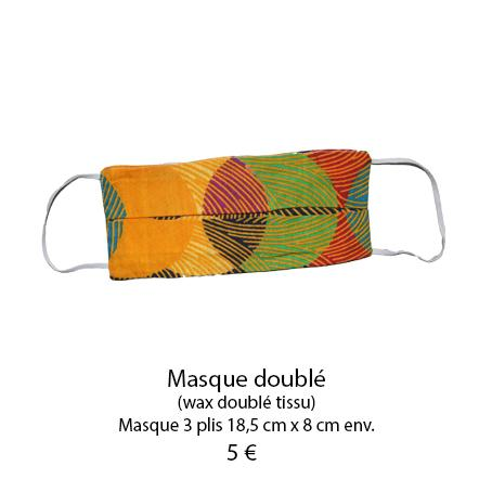 868 masque 3 plis