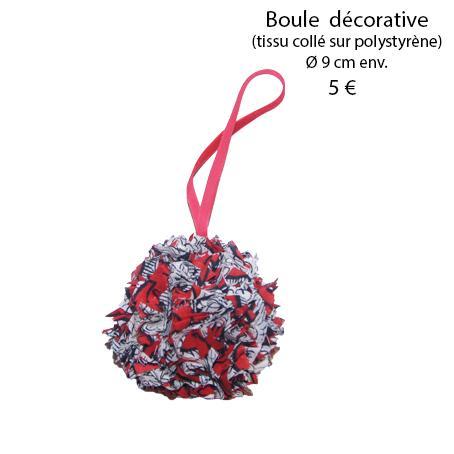 872 boule decorative 9 cm