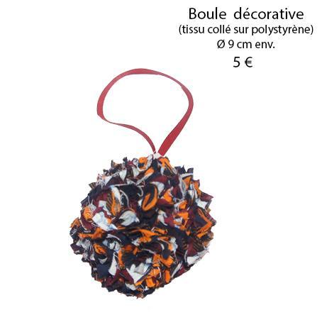 874 boule decorative 9 cm