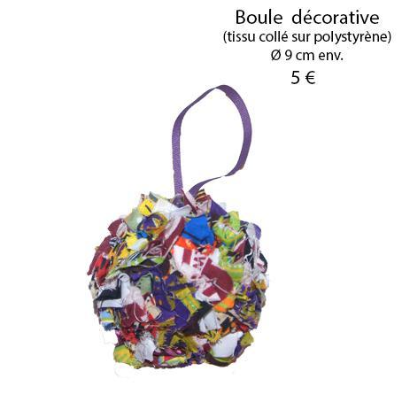 875 boule decorative 9 cm