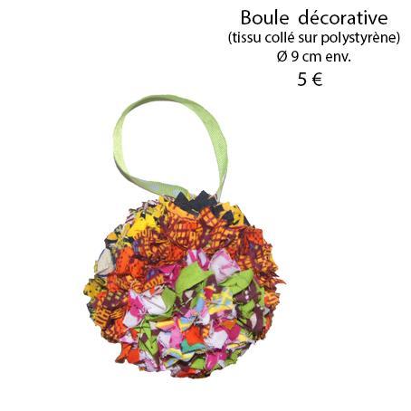 876 boule decorative 9 cm