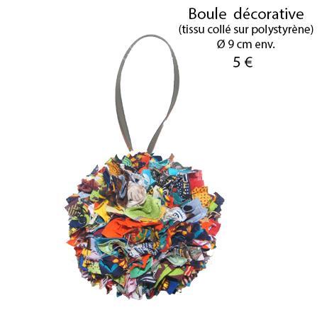 877 boule decorative 9 cm