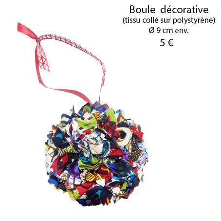 878 boule decorative 9 cm