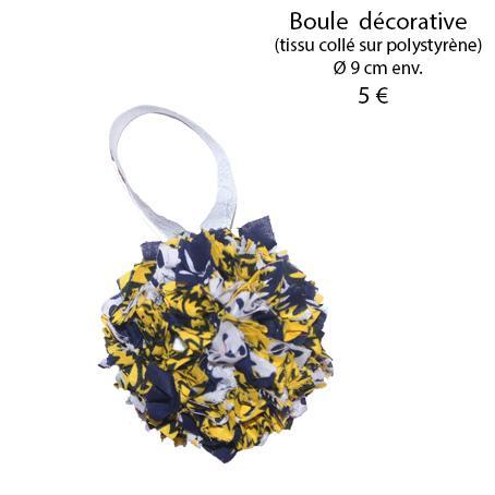 879 boule decorative 9 cm