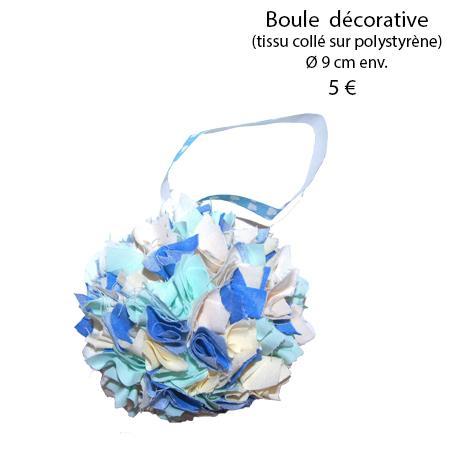 880 boule decorative 9 cm
