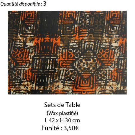 898 set de table