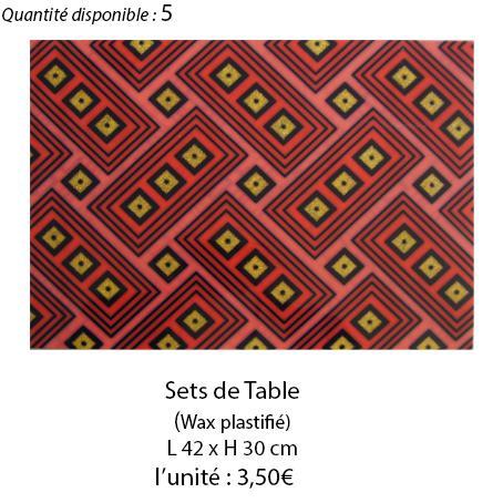 899 set de table