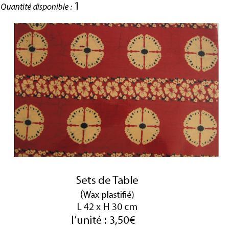 901 set de table