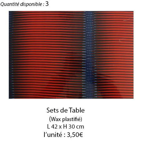 906 set de table