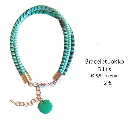 989 bracelet jokko 3 fils