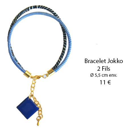 990 bracelet jokko 2 fils