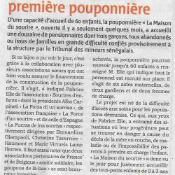 Article presse inauguration