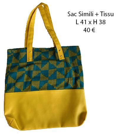 013 sac simili tissu