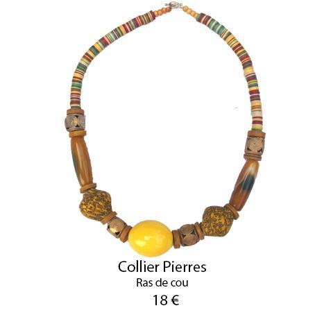 1091 collier pierres