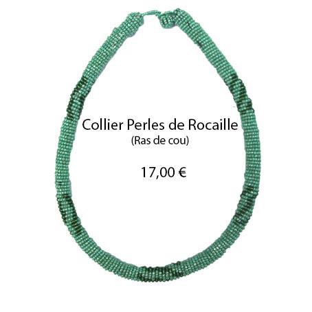 1114 collier perles de rocaille