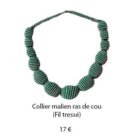 181 collier malien