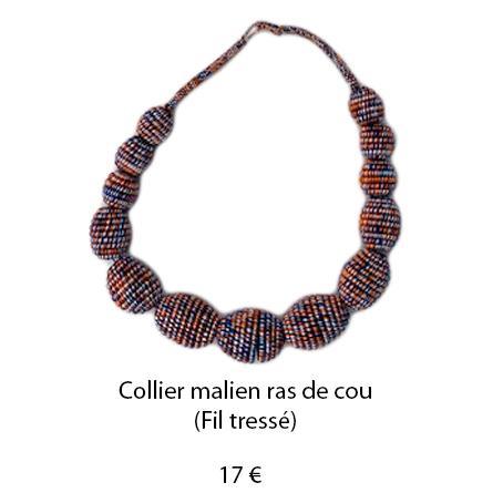 183 collier malien