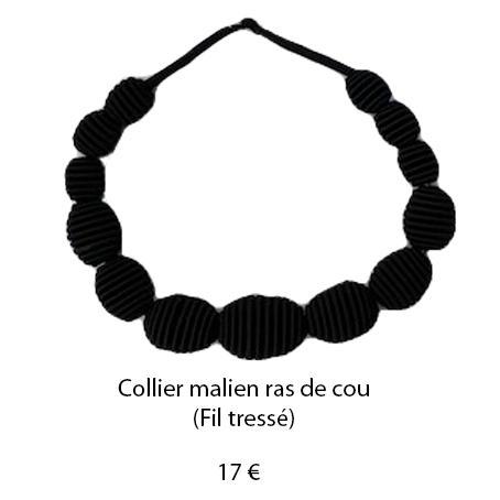 184 collier malien