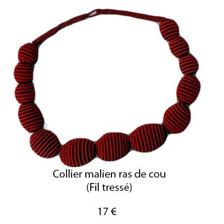 185 collier malien