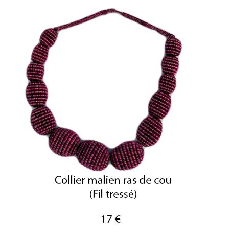 186 collier malien