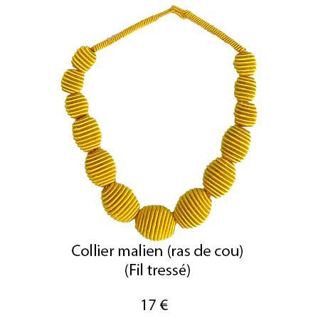 188 collier malien