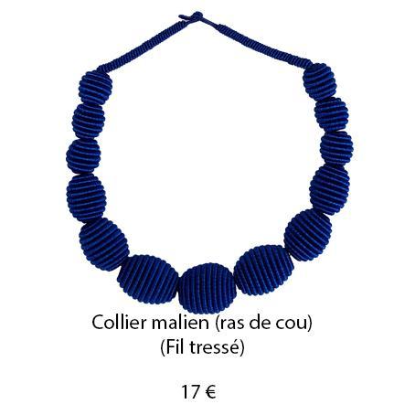 190 collier malien