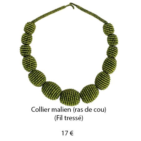 191 collier malien