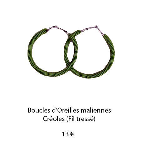 192 boucles oreilles maliennes