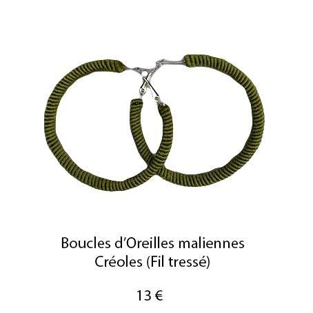 195 boucles oreilles maliennes