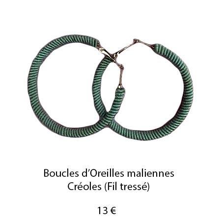 196 boucles oreilles maliennes