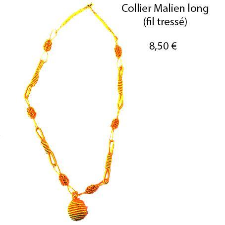 301 collier malien long