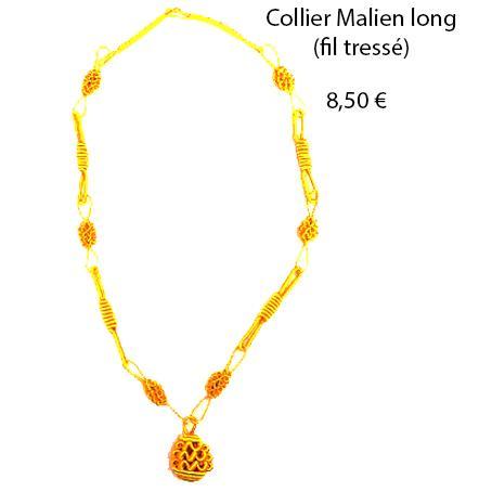 302 collier malien long